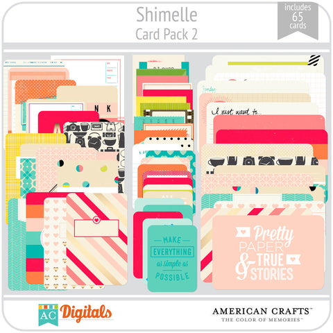 Shimelle Journaling Cards 2