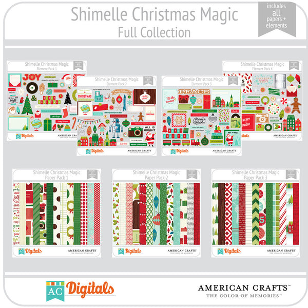 Shimelle Christmas Magic Full Collection
