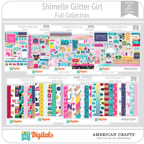 Shimelle Glitter Girl Full Collection