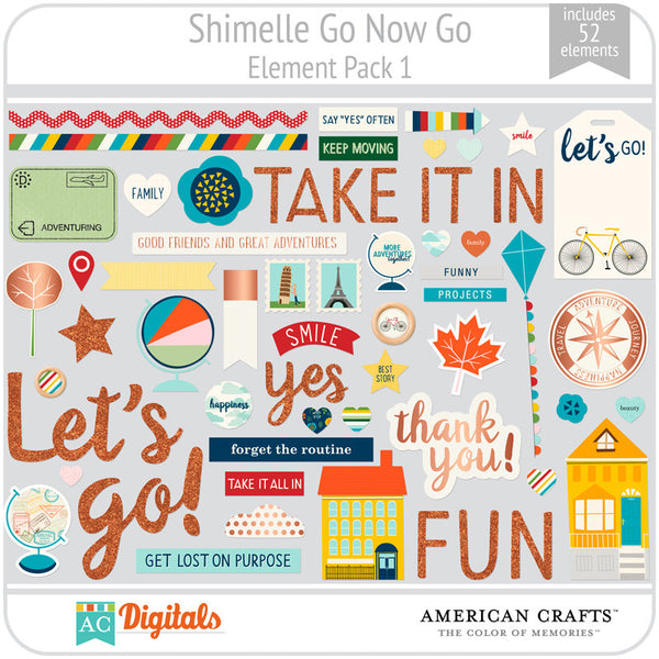 Shimelle Go Now Go Element Pack 1