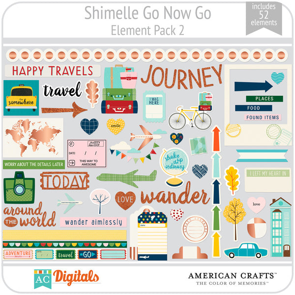Shimelle Go Now Go Element Pack 2