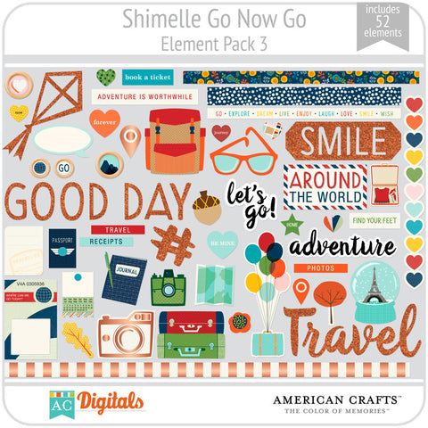 Shimelle Go Now Go Element Pack 3