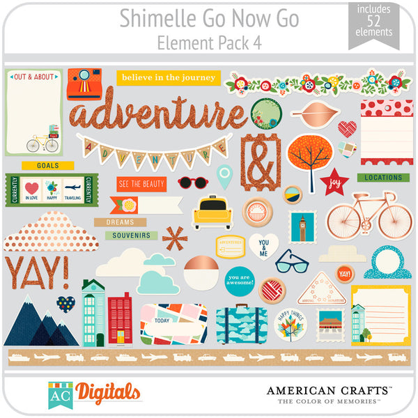 Shimelle Go Now Go Element Pack 4