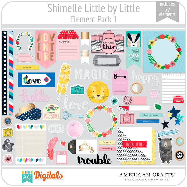 Shimelle Little by Little Element Pack 1