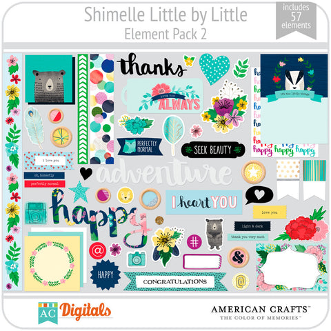 Shimelle Little by Little Element Pack 2