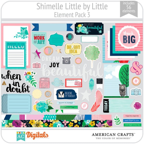 Shimelle Little by Little Element Pack 3