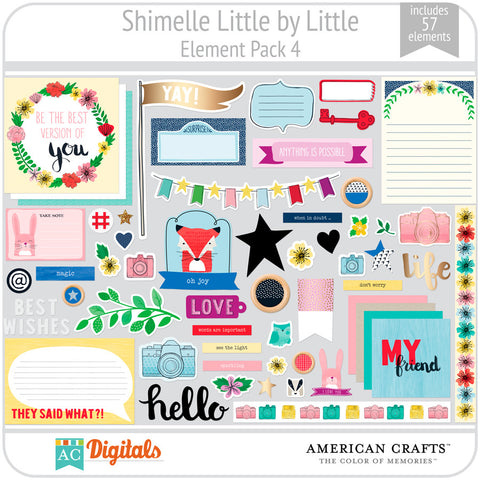 Shimelle Little by Little Element Pack 4
