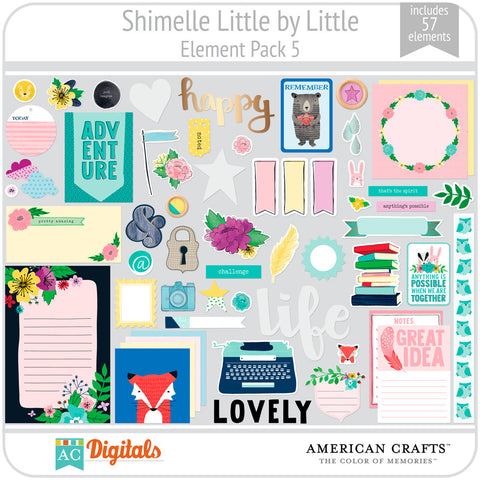 Shimelle Little by Little Element Pack 5