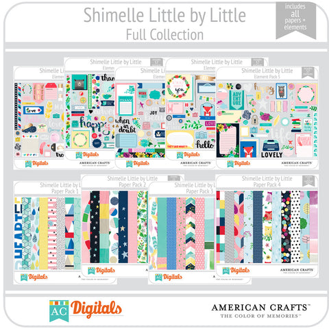Shimelle Little by Little Full Collection