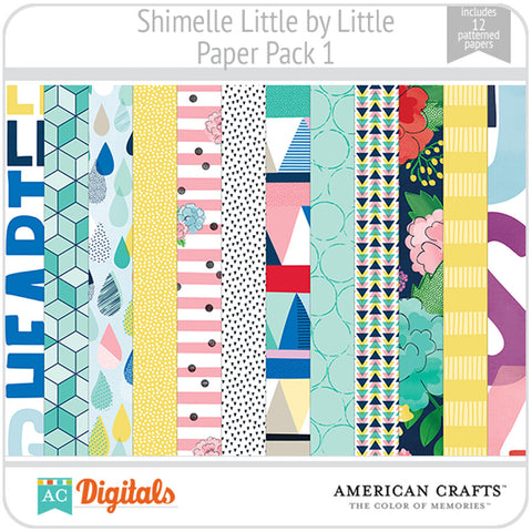 Shimelle Little by Little Paper Pack 1