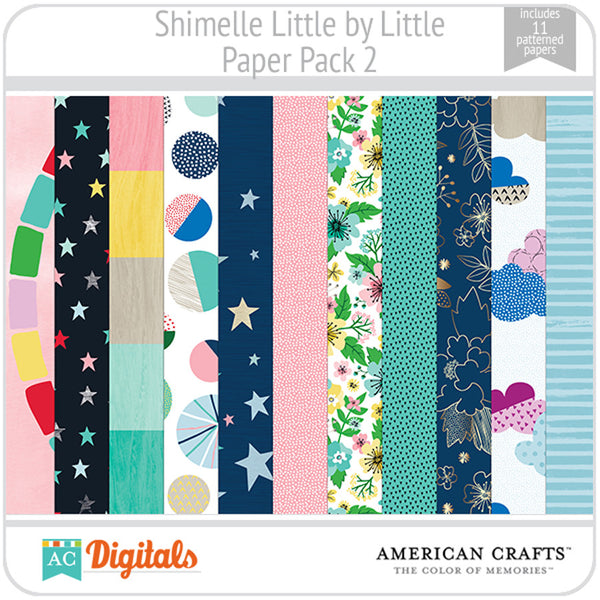 Shimelle Little by Little Paper Pack 2