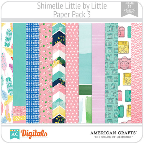 Shimelle Little by Little Paper Pack 3