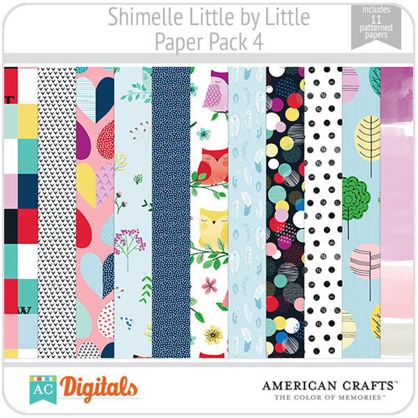 Shimelle Little by Little Paper Pack 4