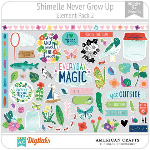Never Grow Up  Element Pack 2