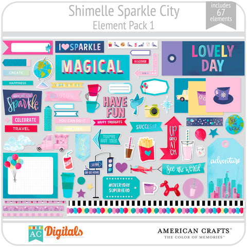 Sparkle City Element Pack 1