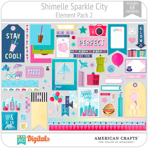 Sparkle City Element Pack 2