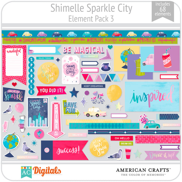 Sparkle City Element Pack 3