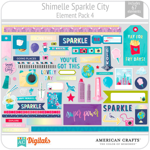 Sparkle City Element Pack 4