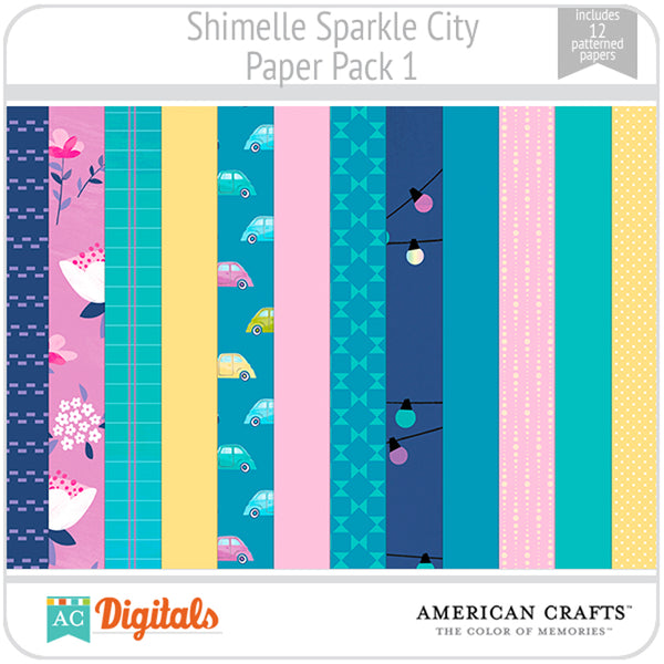 Sparkle City Paper Pack 1