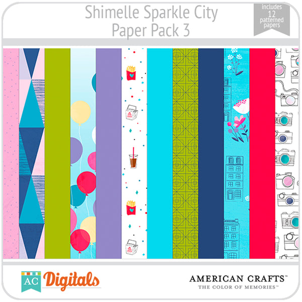 Sparkle City Paper Pack 3