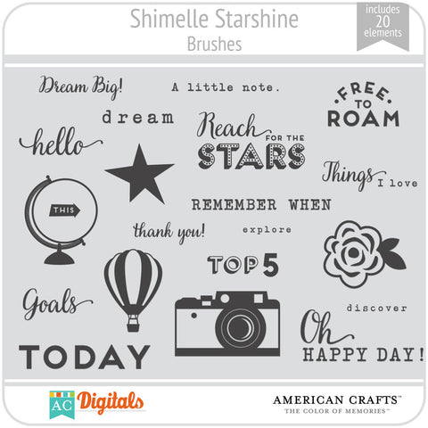 Shimelle Starshine Brush Set