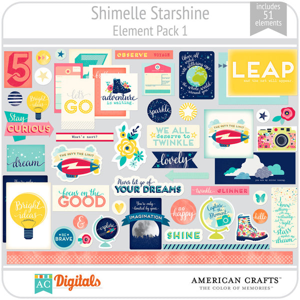 Shimelle Starshine Element Pack 1