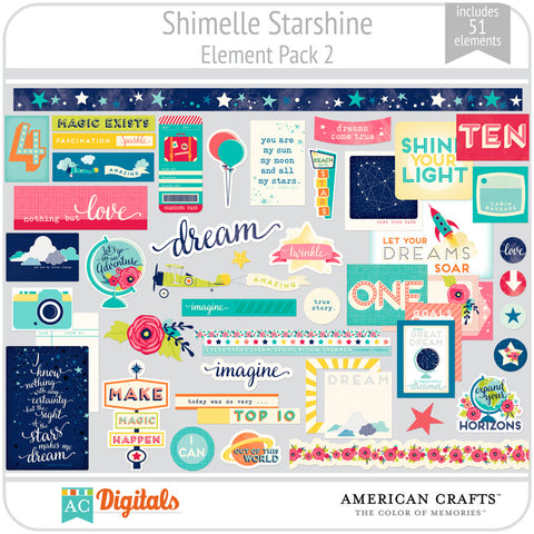 Shimelle Starshine Element Pack 2