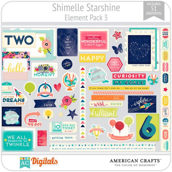 Shimelle Starshine Element Pack 3