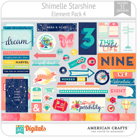 Shimelle Starshine Element Pack 4