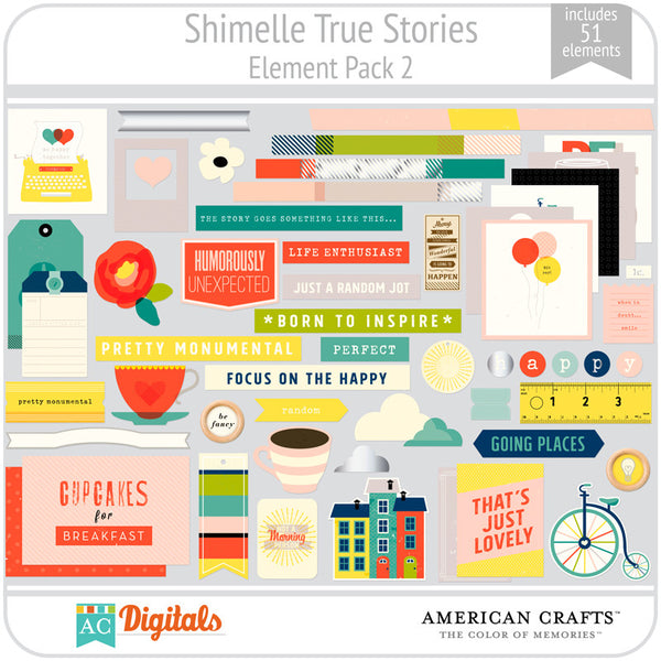 Shimelle True Stories Element Pack 2