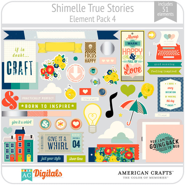 Shimelle True Stories Element Pack 4