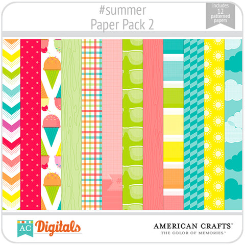 #summer Paper Pack 2