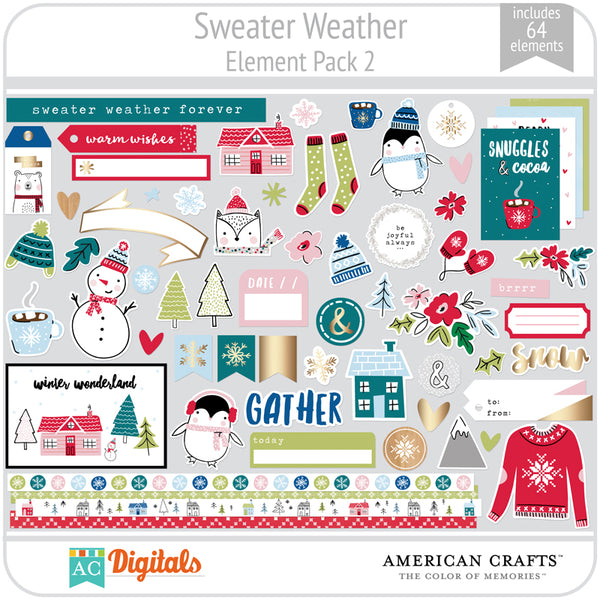 Sweater Weather Element Pack 2