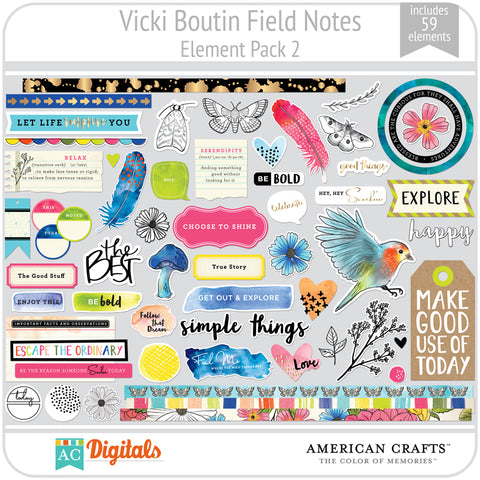 Field Notes Element Pack 2