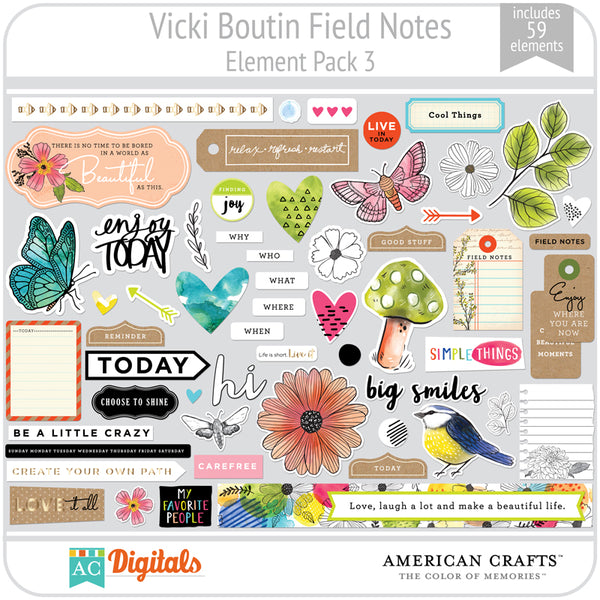 Field Notes Element Pack 3