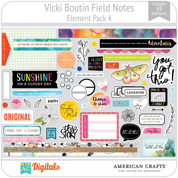 Field Notes Element Pack 4