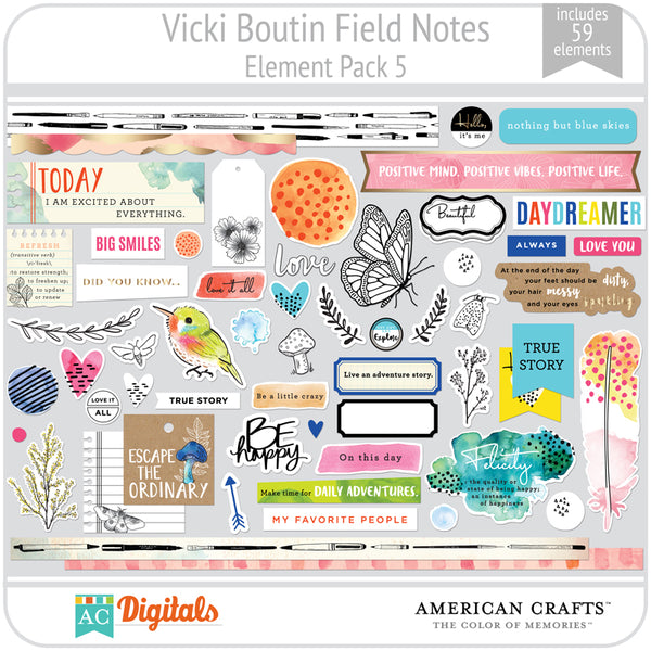 Field Notes Element Pack 5