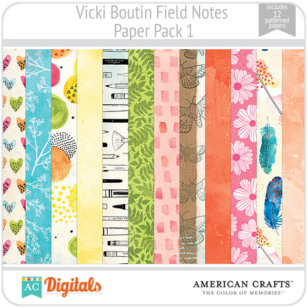 Field Notes Paper Pack 1