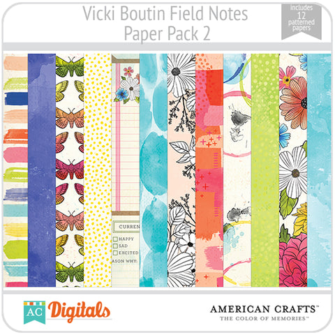Field Notes Paper Pack 2