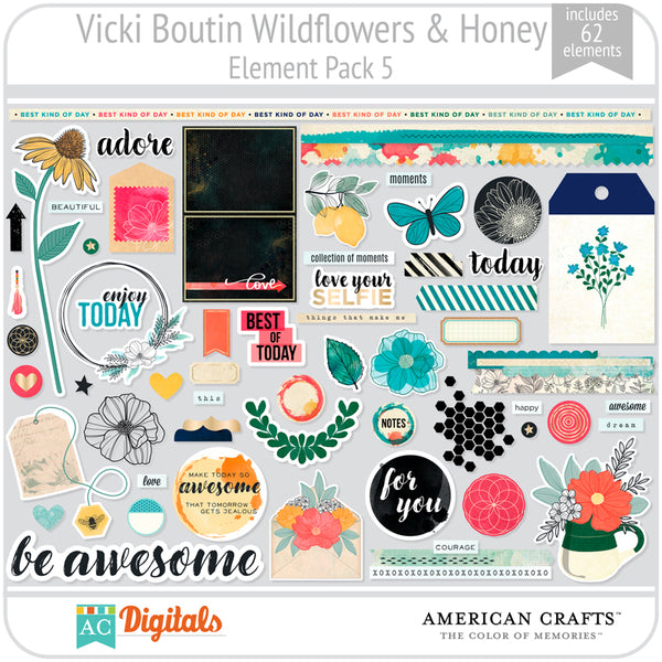 Wildflower & Honey Element Pack 5