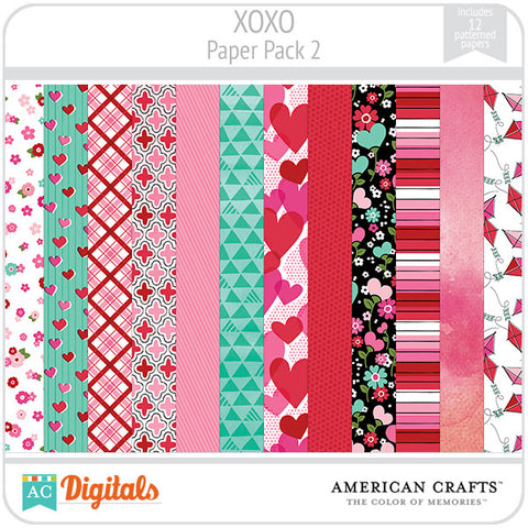 XOXO Paper Pack #2