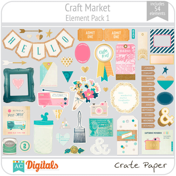 Craft Market Element Pack 1