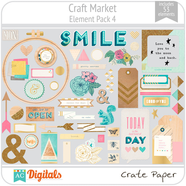 Craft Market Element Pack 4