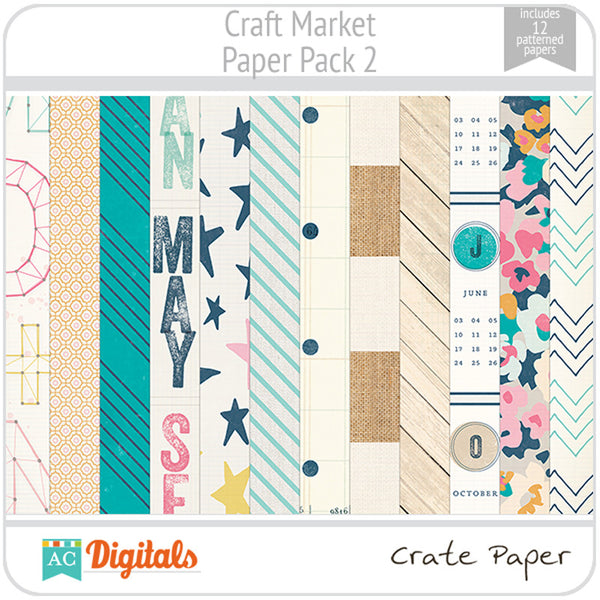 Craft Market Paper Pack 2