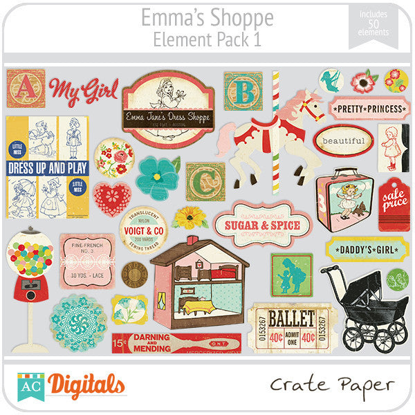 Emma's Shoppe Element Pack #1