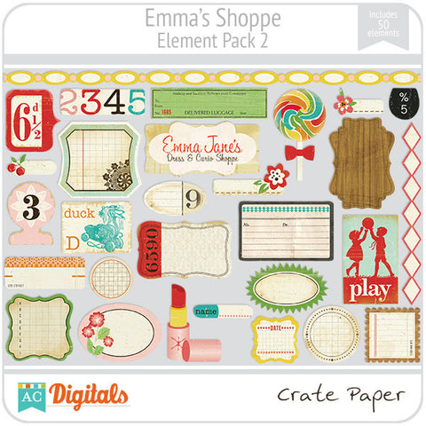 Emma's Shoppe Element Pack #2