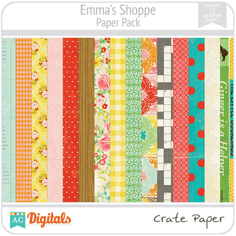 Emma's Shoppe Paper Pack