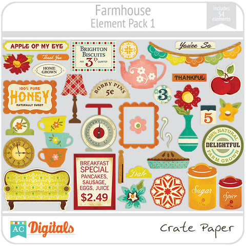 Farmhouse Element Pack #1