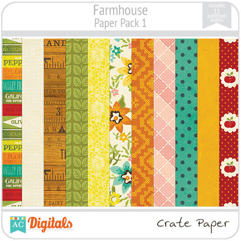 Farmhouse Paper Pack #1