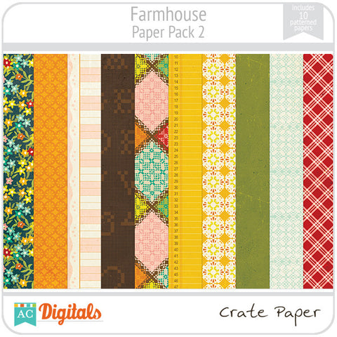Farmhouse Paper Pack #2